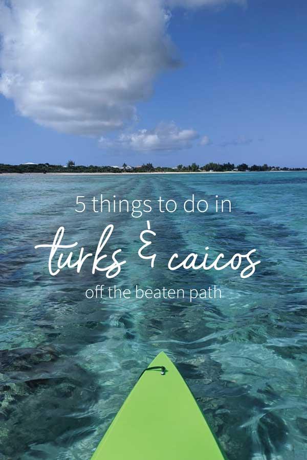 Turks and Caicos Kayaking