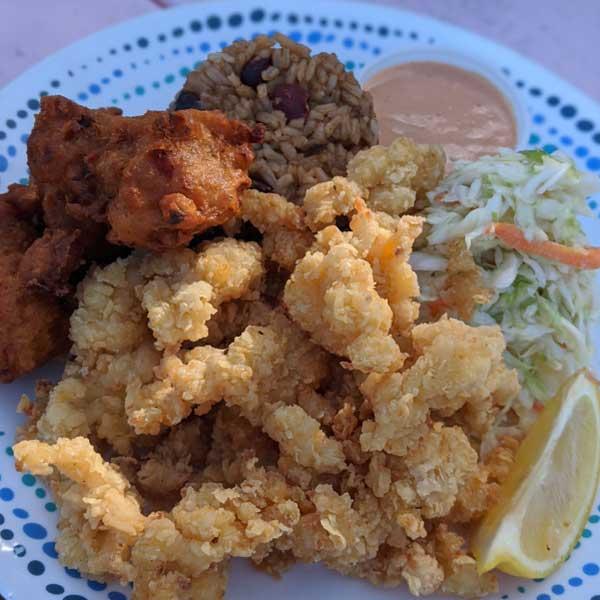 da conch shack where to eat turks and caicos