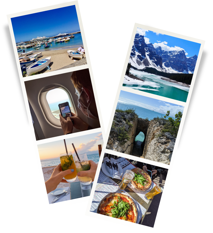 travel and food blogger